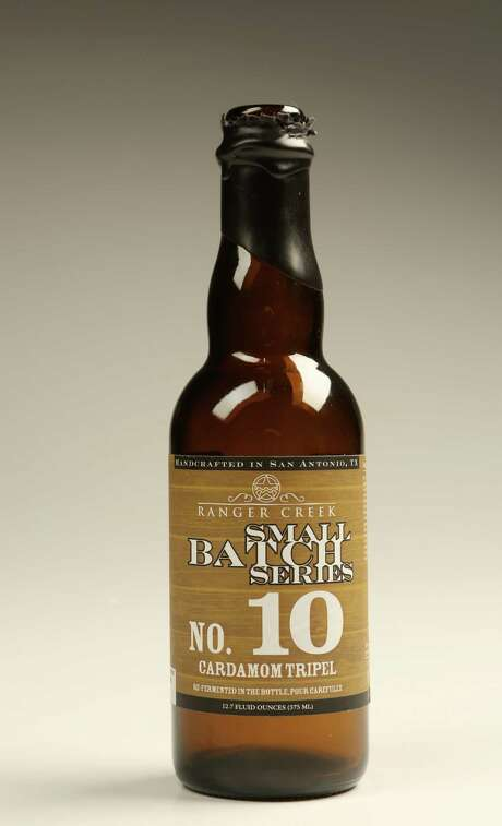 Ranger Creek Small Batch No. 10 bottle photographed in the studio on Wednesday, March 25, 2015, in Houston. ( Mayra Beltran / Houston Chronicle ) Photo: Mayra Beltran, Staff / © 2015 Houston Chronicle