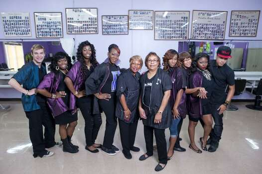 "Houston Beauty followed Glenda ""Ms. J"" Jemison, the owner and director of Franklin Beauty School and her students. The series aired on OWN. Photo: OWN"