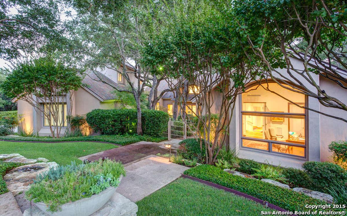 32 Eton Green Circle, San Antonio The Dominion Price: $1.79 million Bedrooms: 4 Bathrooms: 5 Home size: 6,541 square feet MLS: 1094935