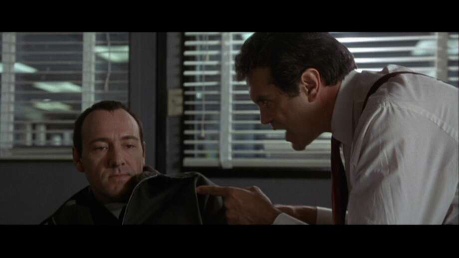 "One movie, ""The Usual Suspects,"" makes rather different use of a bulletin board. Photo: File"