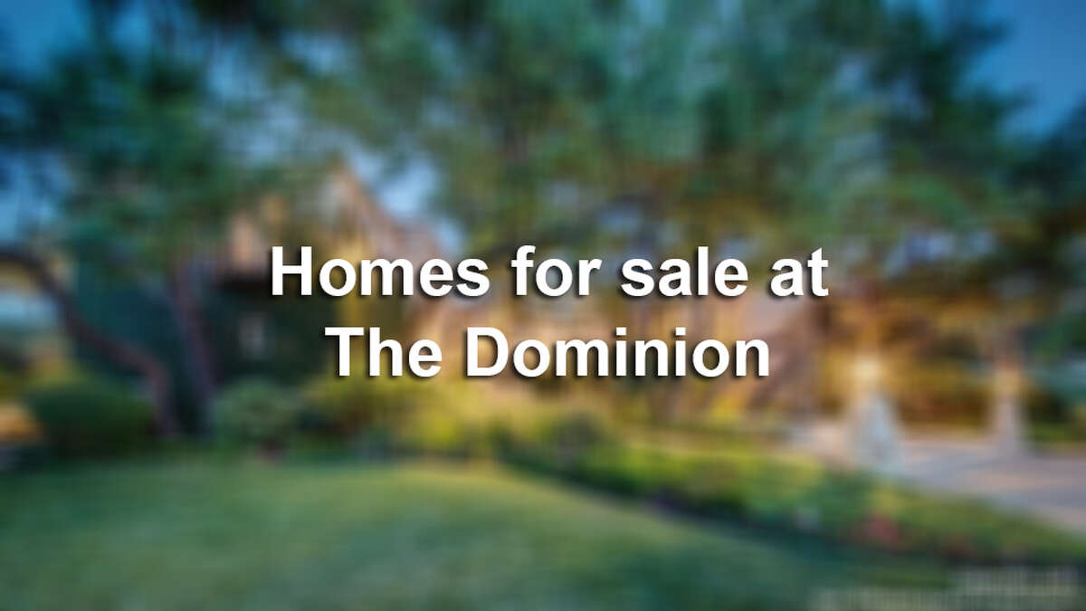 The Dominion is one of the most lavish, most prominent and most expensive communities in San Antonio. Homes here range to over $15 million, and almost all have at least five bedrooms, a pool and guest house. Click through the gallery to see 15 homes at The Dominion that are currently on the market.