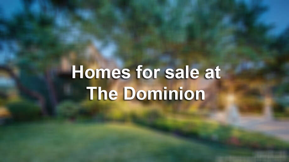The Dominion is one of the most lavish, most prominent and most expensive communities in San Antonio. Homes here range to over $15 million, and almost all have at least five bedrooms, a pool and guest house.Click through the gallery to see 15 homes at The Dominion that are currently on the market. Photo: File