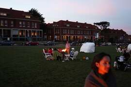 Twilight at the Presidio