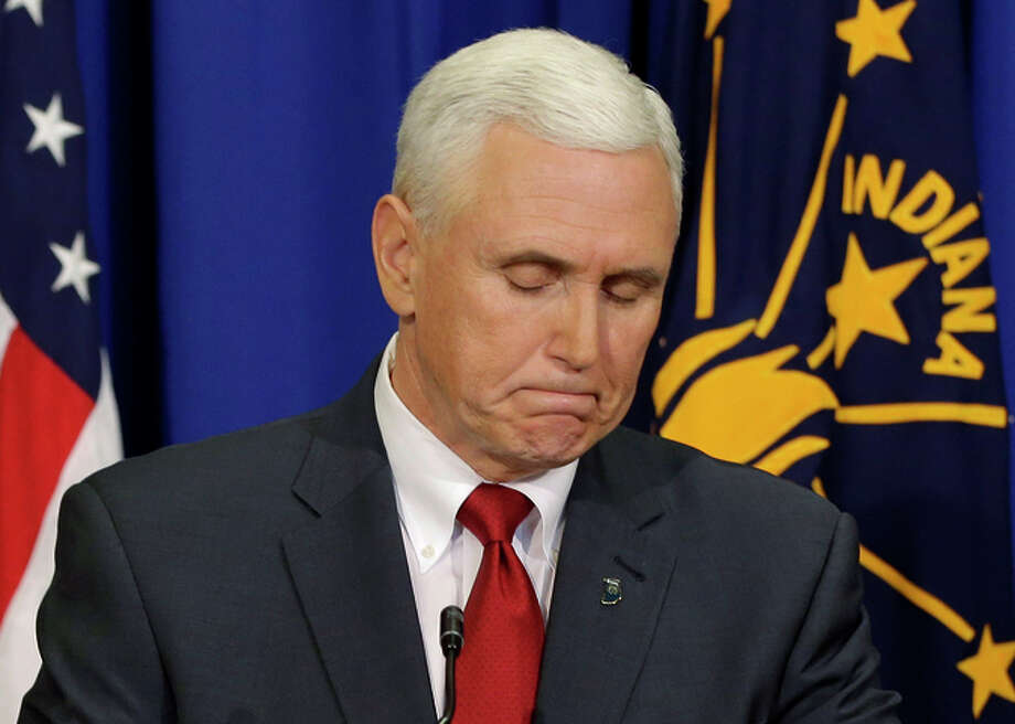 Indiana Gov. Mike Pence wants legislators to clarify that the law does not allow discrimination. Photo: Darron Cummings / Associated Press / AP