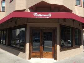Buttermilk Southern Kitchen is housed in a former laundromat at 22nd and Bryant streets in the Mission.