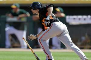 Giants' Matt Duffy wins camp award, but what about roster spot? - Photo