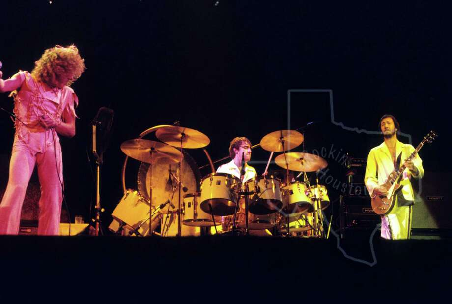 The Who plays the Summit, Nov. 1, 1975.  Photo: Bruce Kessler / Rockin' Houston