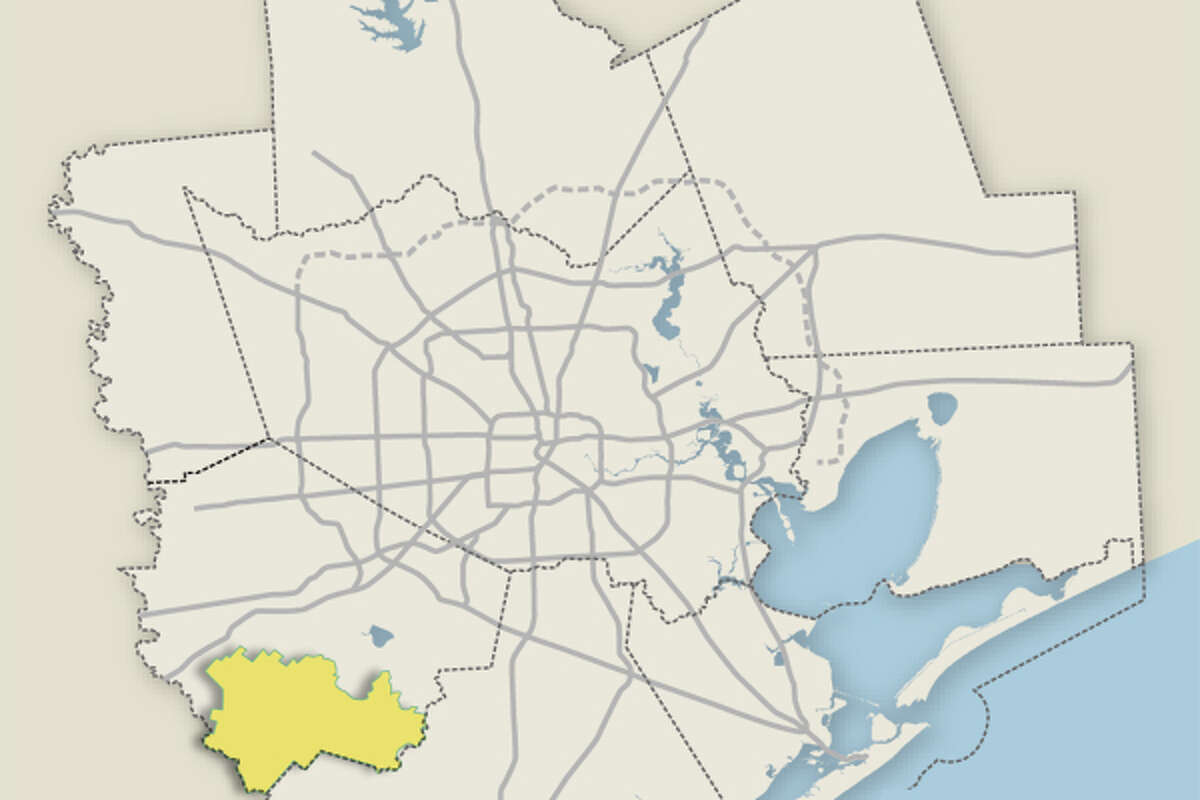 The boundary for Needville ISD is pictured.