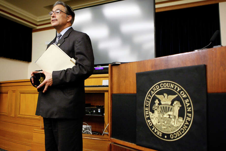 Sheriff Ross Mirkarimi Mirkarimi dismissed any suggestion that he would pull out of the election. Photo: Michael Short / The Chronicle / ONLINE_YES