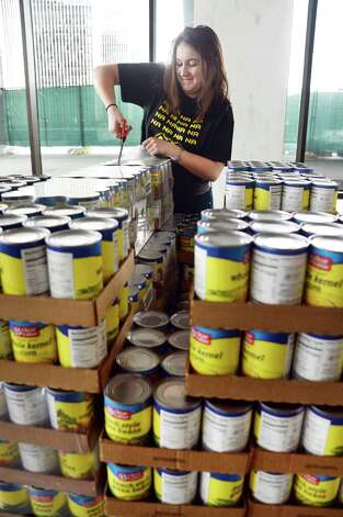 Canstruction Honors Heroes At State Museum Times Union