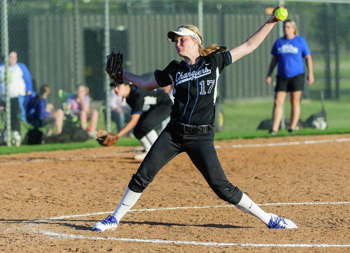 Clear Springs' McKenna Zinke has been solid on the mound for the Chargers.