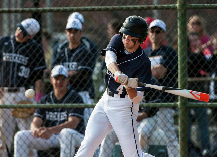 Outfielder Nate Panzer will be a vital contributor for the Wreckers this spring. Photo: Mark Conrad / Connecticut Post Freelance