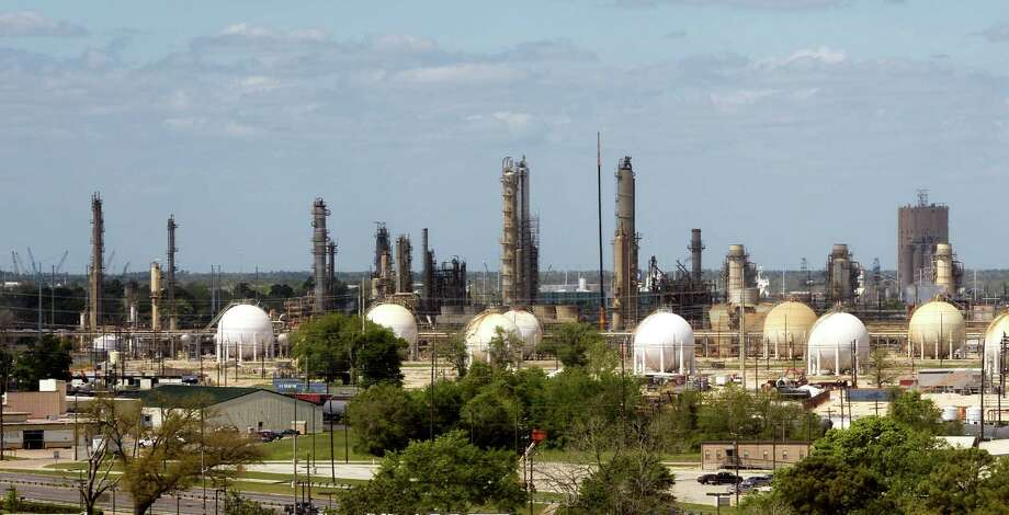 Exxon Mobil Corporation has filed permits to increase activity at their Beaumont refinery. The company reportedly plans an expansion that will the make the facility the largest in the United States. Photo taken Monday 3/30/15 Jake Daniels/The Enterprise Photo: Jake Daniels / ©2015 The Beaumont Enterprise/Jake Daniels