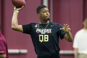 Jameis Winston puts on a show for NFL teams - Photo
