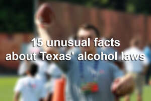 Texas' strangest alcohol laws - Photo