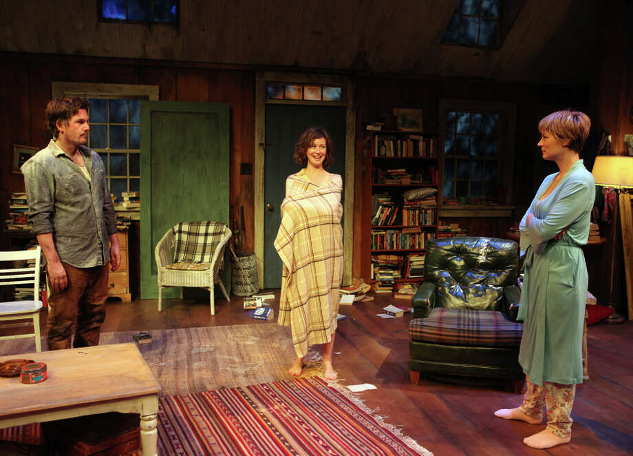 "Patrick Kelly Jones (left), Jessi Campbell and Lisa Brescia  in John Kolvenbach's ""Sister Play"" at the Magic Theatre. Photo: Jennifer Reiley / ONLINE_YES"