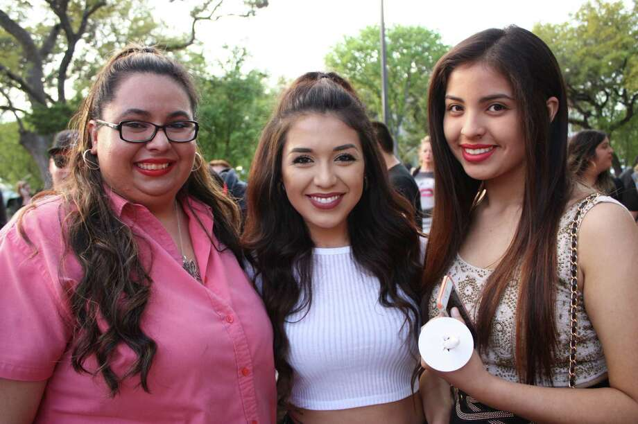 Hundreds of Selena's fans gathered Tuesday at a candle light vigil held for the star who died 20 years ago today. The vigil was held at 12451 Network Blvd., Suite 140. Photo: Libby Castillo