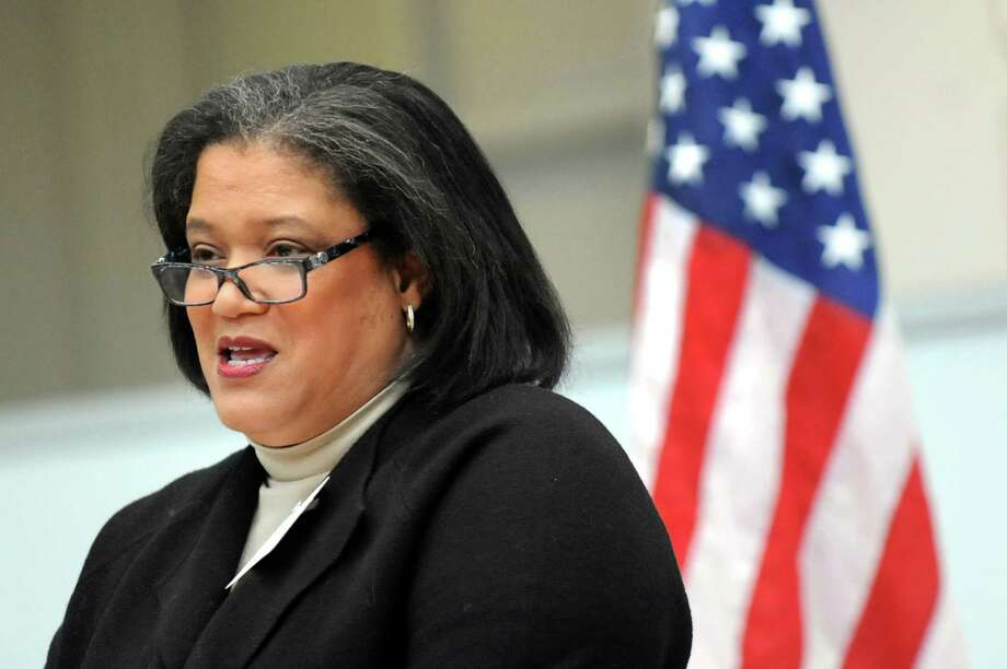 Marguerite Vanden Wyngaard, superintendent of Albany's City School District Wednesday, Feb. 25, 2015, at UAlbany in Albany, N.Y. (Cindy Schultz / Times Union) Photo: Cindy Schultz / 00030748A