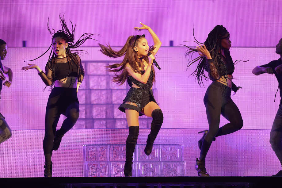Ariana Grande performs at the AT&T Center in San Antonio on March 31, 2015. Photo: Tom Reel, San Antonio Express-News