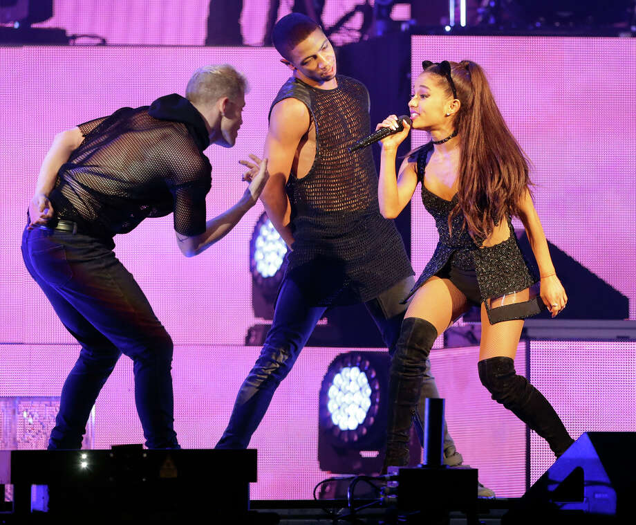 Ariana Grande performs at the AT&T Center in San Antonio on March 31, 2015. Photo: Tom Reel / San Antonio Express-News