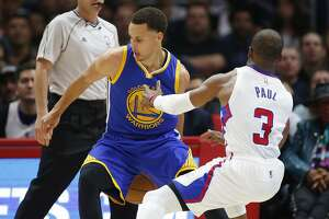 It's Stephen Curry's year, and Chris Paul must live with it - Photo