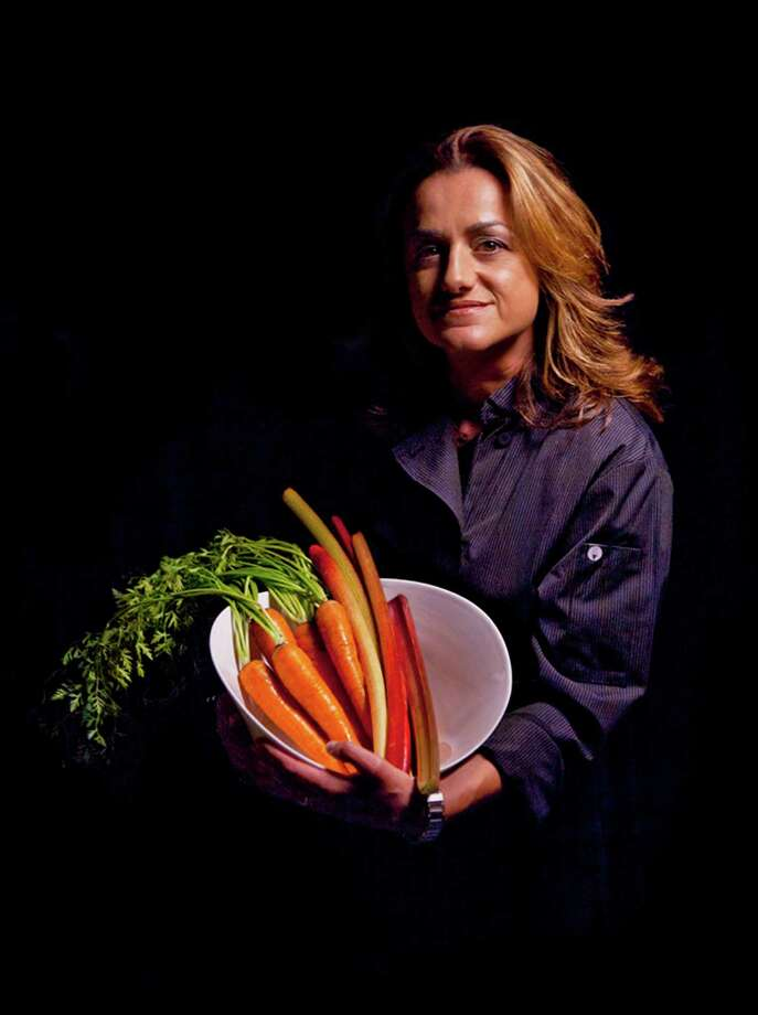 "New Canaan chef Silvia Baldinis' appearance on ""Chopped"" aired March 31. Photo: File Photo, Contributed Photo / Stamford Advocate Contributed photo"
