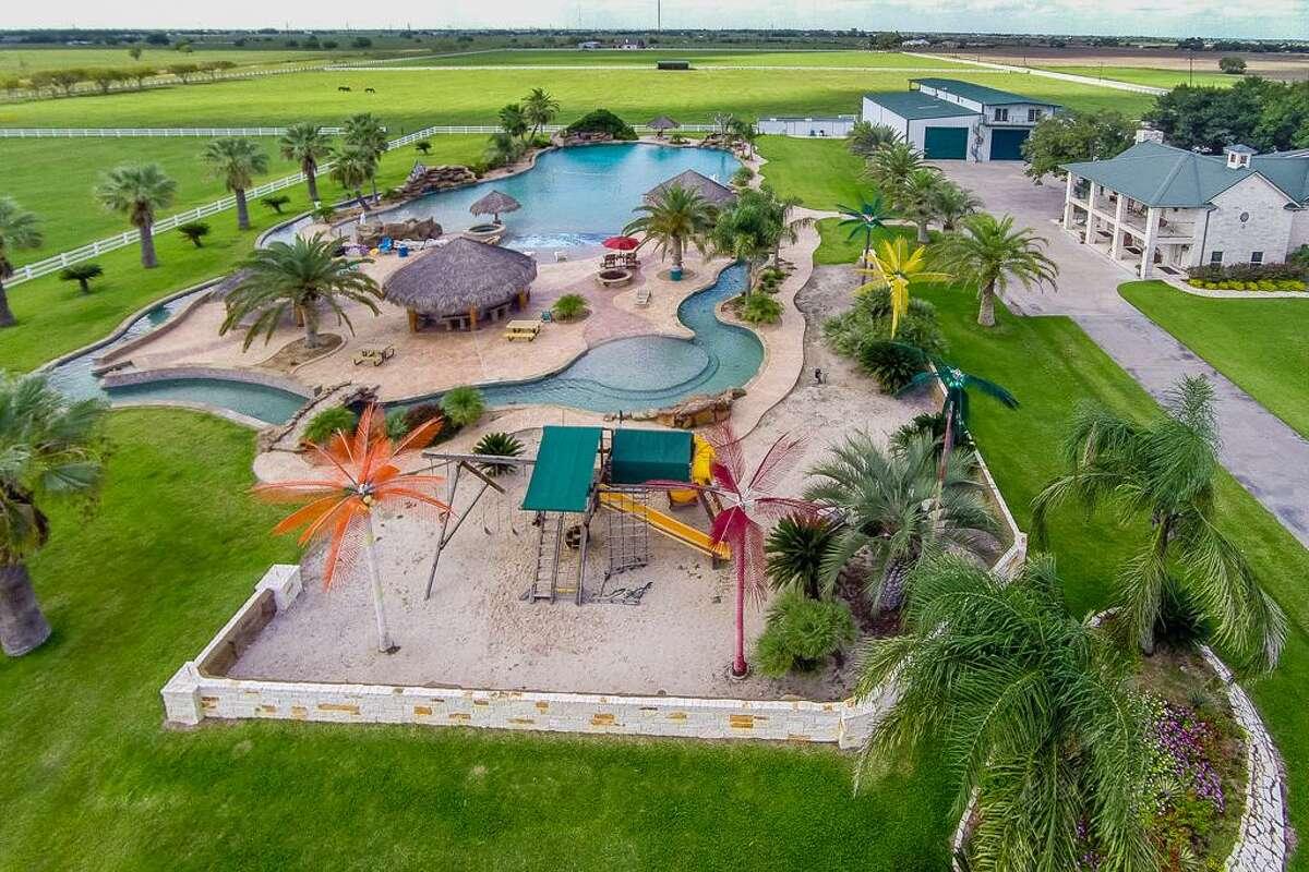 557 County Road 451 in El Campo, Texas Listing price: $5,000,000