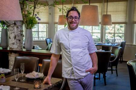 Chef Christopher Kostow at Meadowood restaurant in St. Helena, Calif. is seen on Tuesday,  March 31st,  2015.