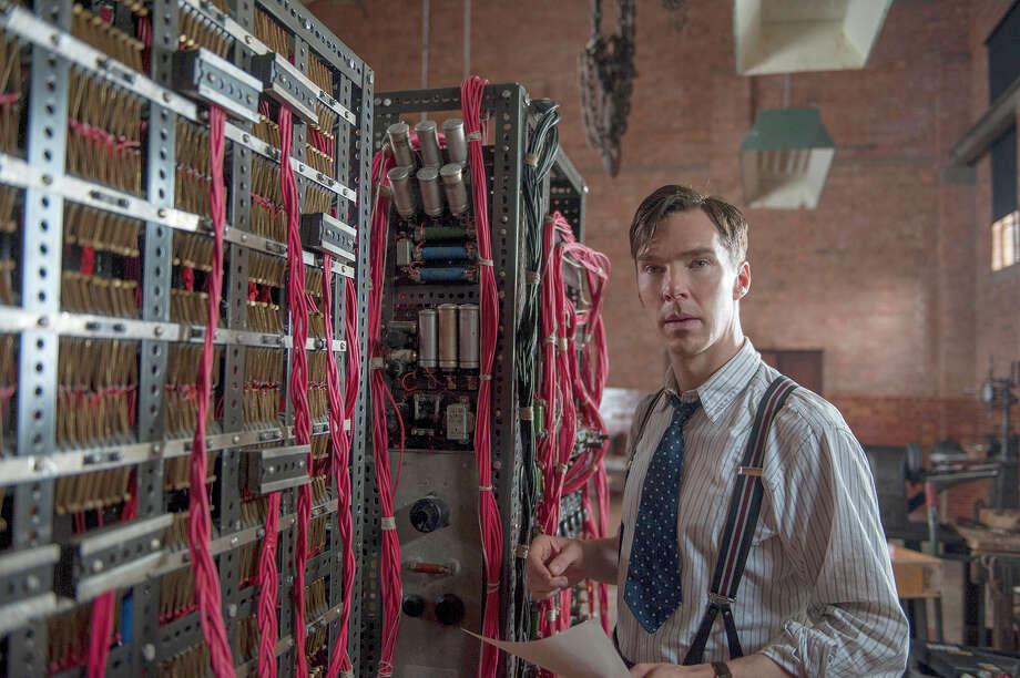 "Benedict Cumberbatch in ""The Imitation Game."" Illustrates OSCAR-IMITATION (category e), by Michael O'Sullivan © 2015, The Washington Post. Moved Wednesday, Feb. 18, 2015. (MUST CREDIT: Jack English/The Weinstein Company.) Photo: HANDOUT / THE WASHINGTON POST"
