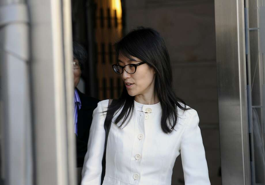 Ellen Pao, former junior partner at Kleiner Perkins Caufield & Byers, exits state court in San Francisco, California, U.S., on Friday, March 27, 2015. A jury soundly rejected Pao's claims of gender discrimination by Kleiner Perkins Caufield & Byers, in a case that riveted Silicon Valley for weeks and exposed how women fare in the male-dominated world of venture capital. Photographer: Michael Short/Bloomberg *** Local Caption *** Ellen Pao Photo: Michael Short, Bloomberg