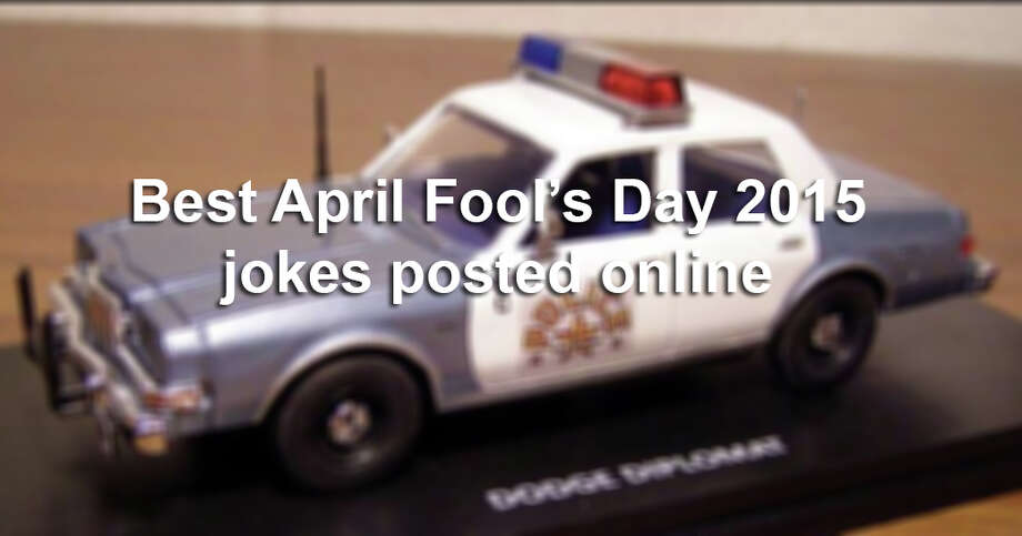 Scroll through the gallery to see some of the best April Fool's Day jokes posted online this year. Photo: Photo Illustration