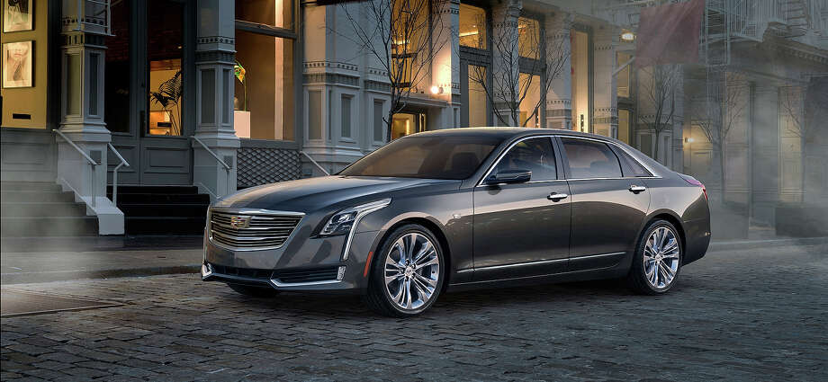 The 2016 Cadillac CT6 elevates to the top of the Cadillac range, and creates a new formula for the prestige sedan through the integration of new technologies developed to achieve dynamic performance, efficiency and agility previously unseen in large luxury cars. Pre-production model shown. Photo: Cgibackgrounds.com, Cadillac