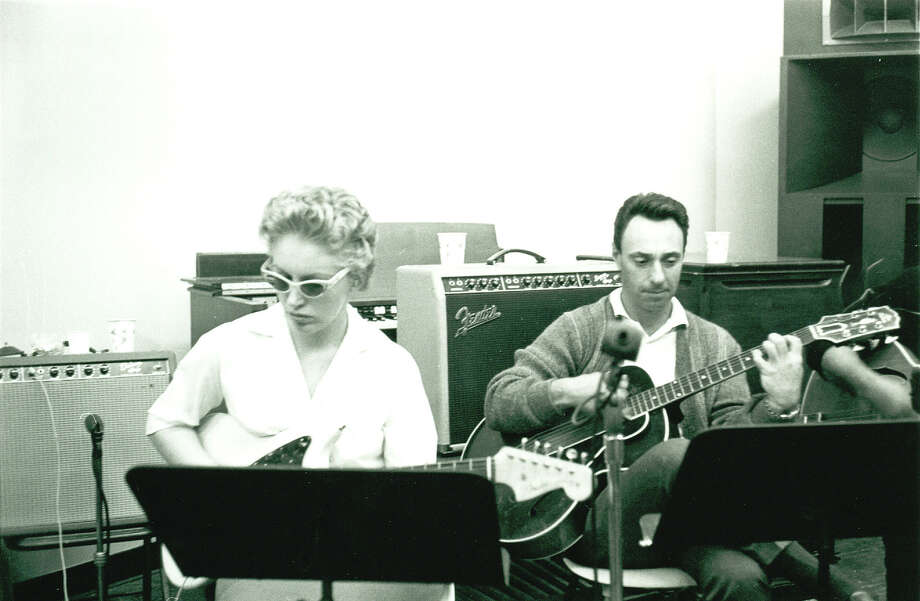 Carol Kaye and Bill Pitman were members of the collection of musicians nicknamed the Wrecking Crew. Photo: Courtesy Magnolia Pictures
