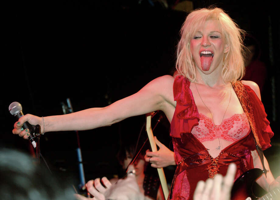 Courtney Love will play San Antonio in May between dates opening for Lana Del Rey. Photo: CHAD RACHMAN /AP / AP