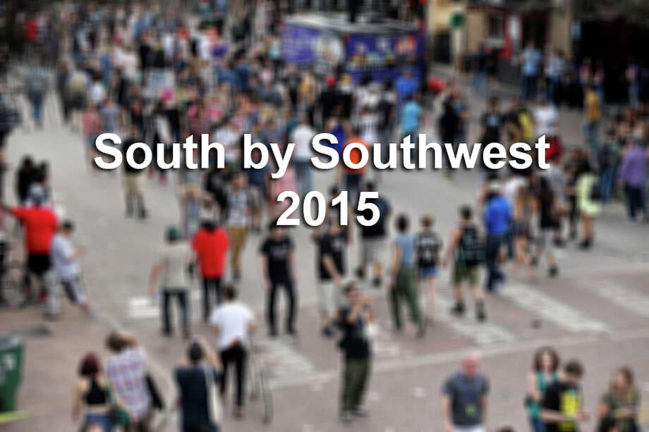 Crowds meander on 6th Street during South by Southwest Thursday March 19, 2015 in Austin, TX. Photo: Edward A. Ornelas, Courtesy / © 2015 San Antonio Express-News