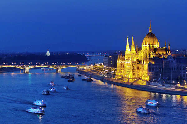Budapest's impressive Parliament building, perched on the Danube River, is even more extravagant inside -- book ahead for tours.