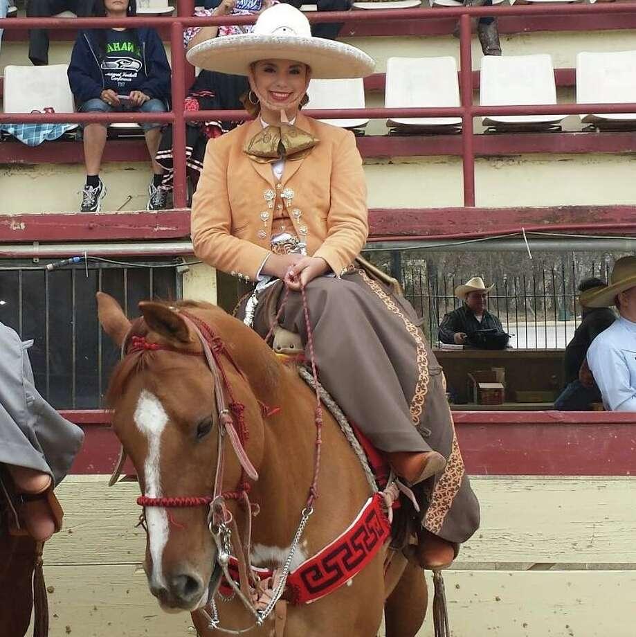 Gabriela Sofía Gonzalez is the 2014 Fiesta Charro Queen. Photo: Courtesy Photo