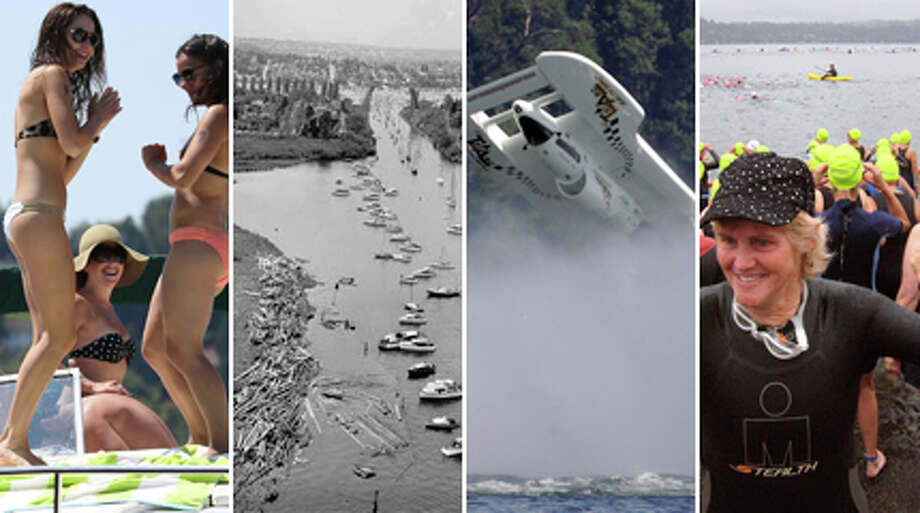 The freshwater pride of the region has been polluted nearly to death and then saved, bridged and re-bridged and through it all a source of nearly endless fun. Click through our gallery for a spin through a history of fun on Lake Washington.