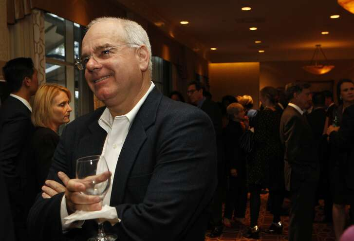 Lenny Mendonca, director emeritus of McKinsey & Company, chats with guests during the San Francisco Chronicle's Visionary of the Year event at the Fairmont Hotel, Tuesday, March 31, 2015, in San Francisco, Calif. Mendonca is nominated for the visionary award.