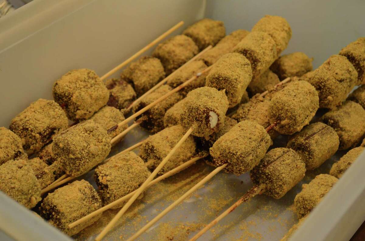 S'mores on a stick, which will be at the Texas Renaissance Festival this coming season.