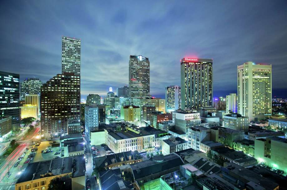 View from of Central Business District from Le Meridien New Orleans. The former W New Orleans was converted to Le Meridien New Orleans at the cost of $29 million. Photo: Starwood Hotels / Starwood Hotels