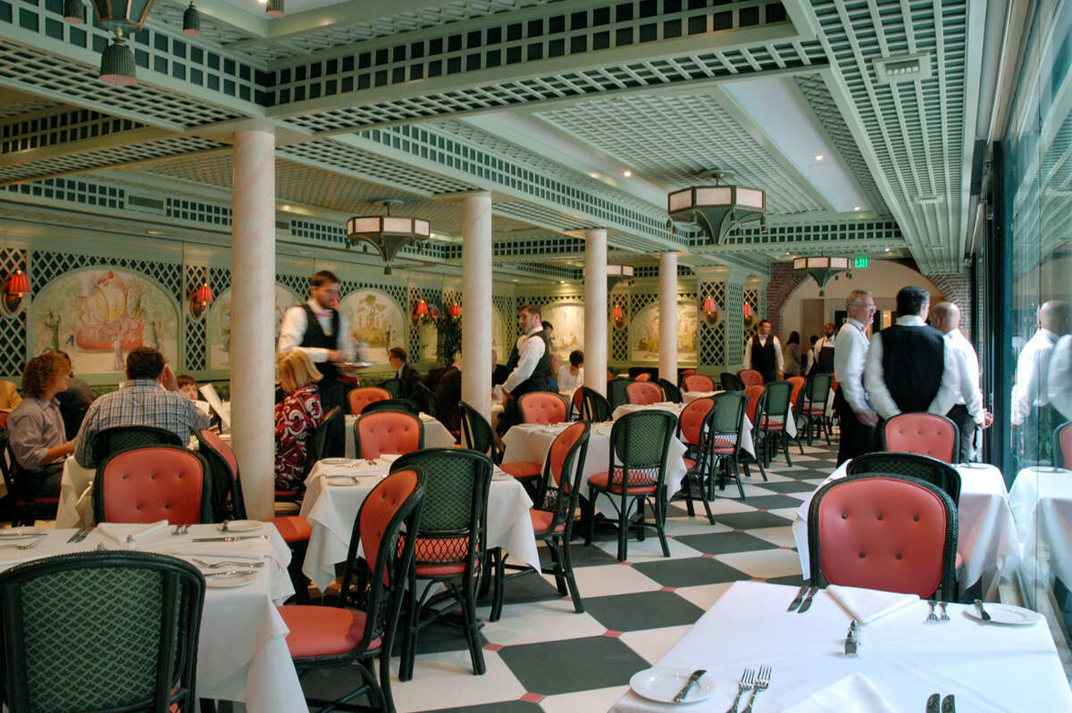 Chanteclair Room at recently revamped Brennan's restaurant in New Orleans.