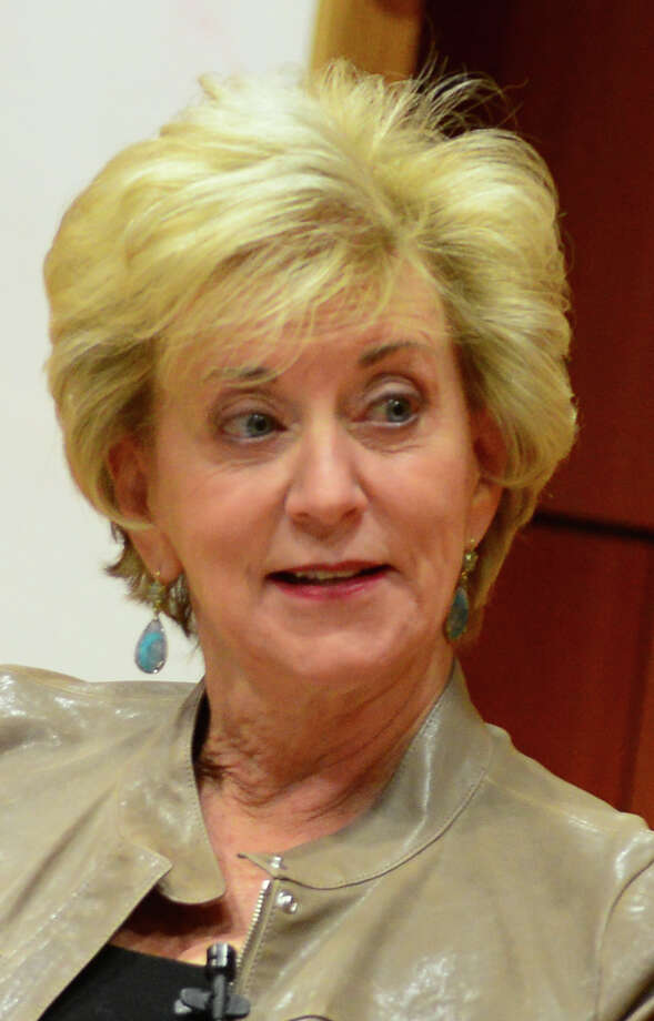 Linda McMahon will be a speaker at the Nation Republican Leadership Summit in Nashua, N.H., in mid-April. Photo: Christian Abraham / Connecticut Post
