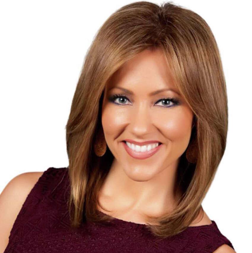 Now: Delaine Mathieu, 5 p.m. anchorwoman, WOAI-TV.
