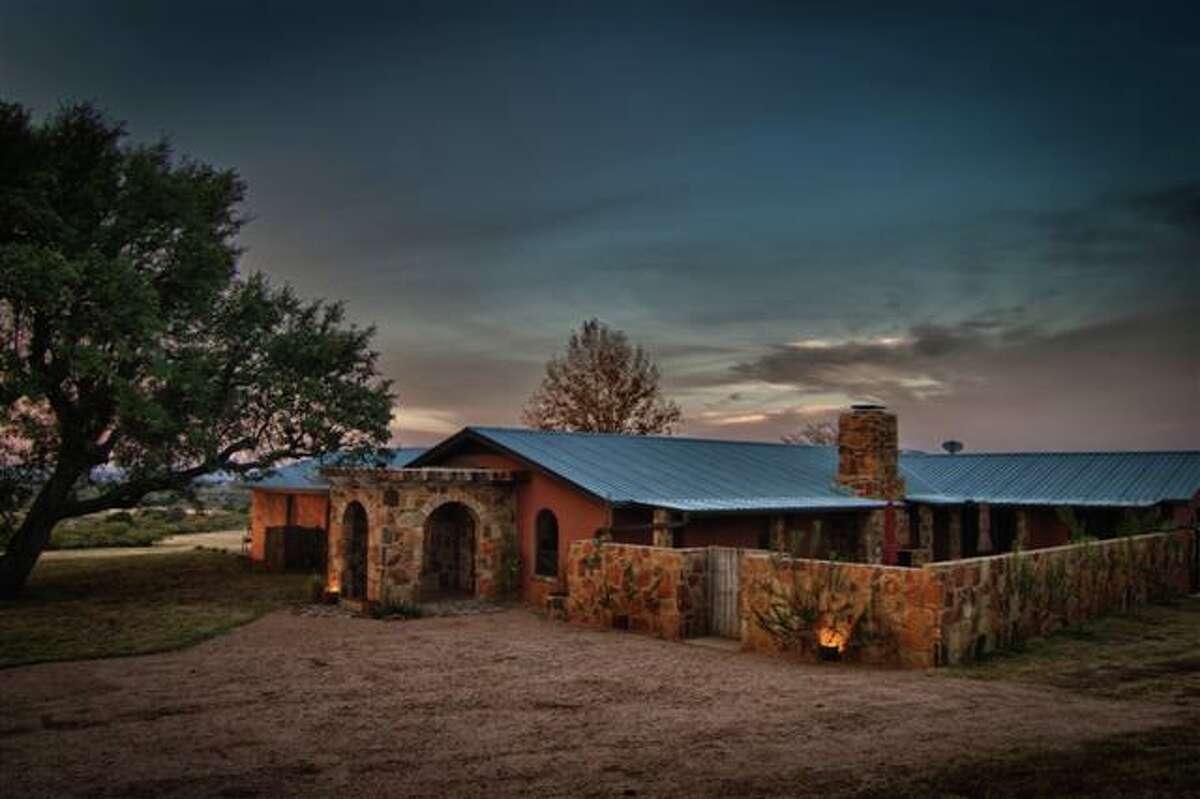 Tres Lunas Resort Fredericksburg Contact: 325-347-6480 Website:http://treslunasresort.com/the-resort/weddings/ Their rustic stone wedding chapel is as country as a wedding gets.