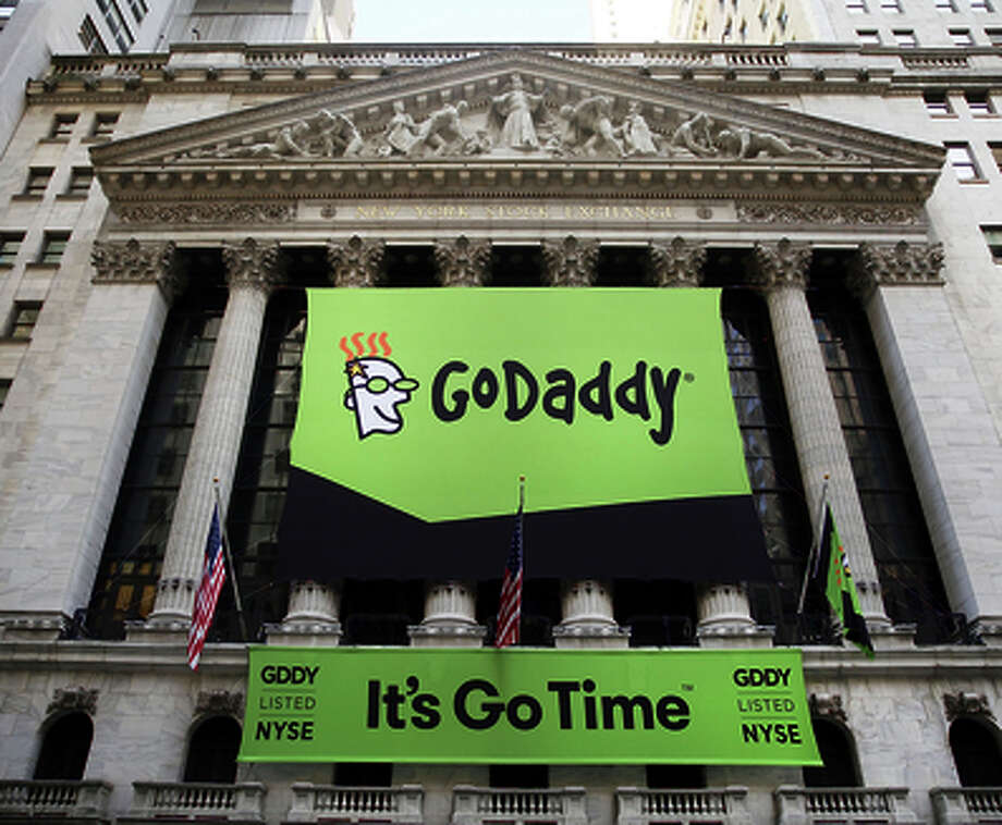GoDaddy had collected $460 million in its IPO. Photo: Spencer Platt / Getty Images / 2015 Getty Images