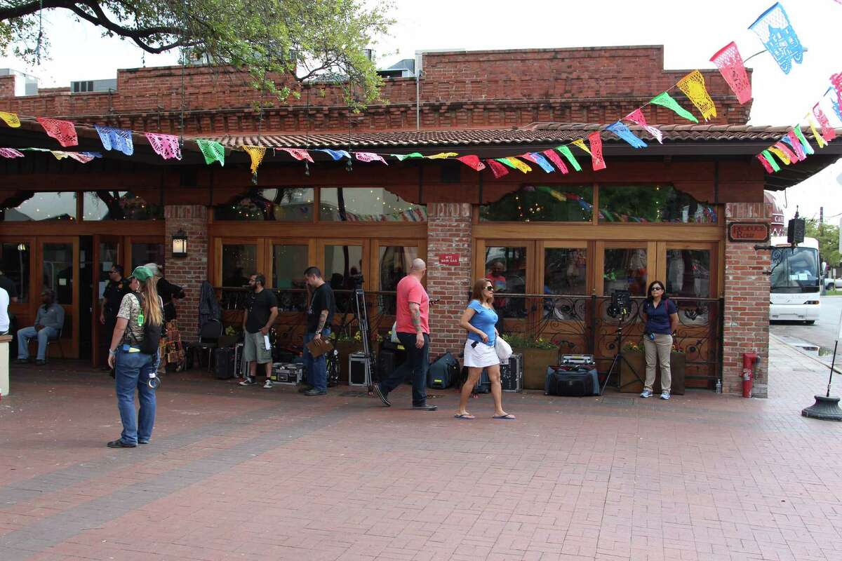 Dozens of crew members and contestants filled Mi Tierra and its courtyard for filming of the ABC reality television show, which pits attractive bachelor's against one another to win the heart of