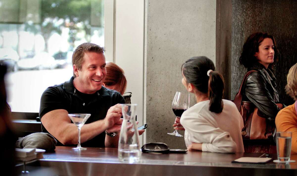 Cocktails at Prospect restaurant in S.F., where wine director Joshua Thomas manages a deep and confident wine list.
