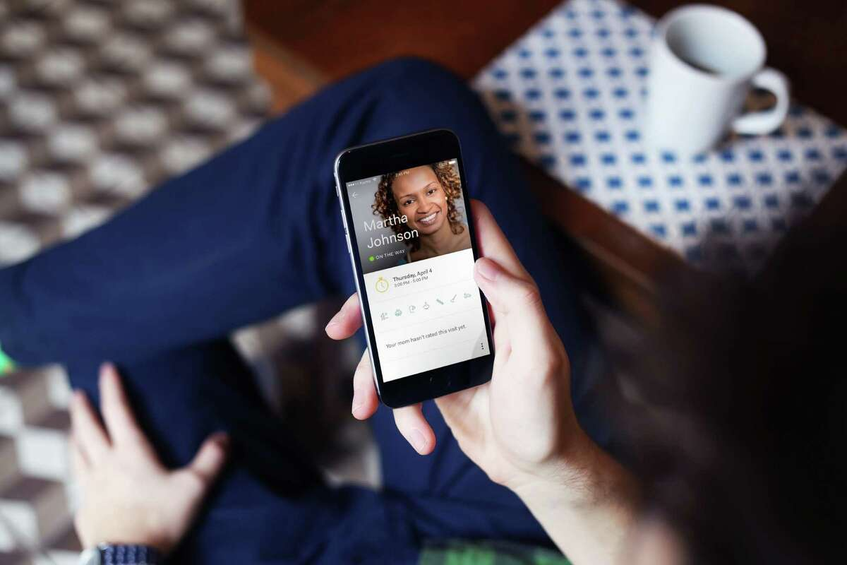 Honor will provide a smartphone app for seniors families so they can keep tabs on when a caregiver visits their family member.