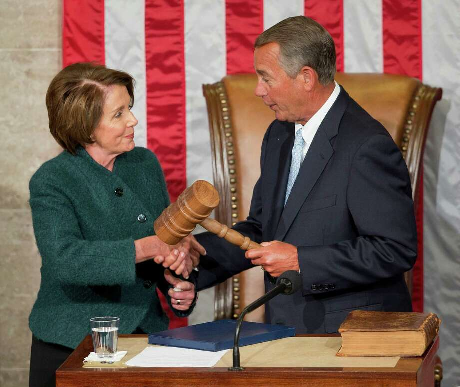 House Speaker John Boehner and House Minority Leader Nancy Pelosi reached a rare bipartisan agreement on Medicare reform. The agreement was reminiscent of betters times in Congress. Photo: Pablo Martinez Monsivais /Associated Press / AP